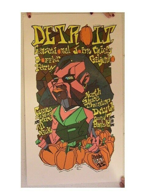 Detroit SilkScreen Poster Andrew R. Jenkins