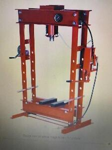 HOC - 50 ton DUAL SPEED INDUSTRIAL HYDROLIC SHOP PRESS + WARRANTY + FREE SHIPPING