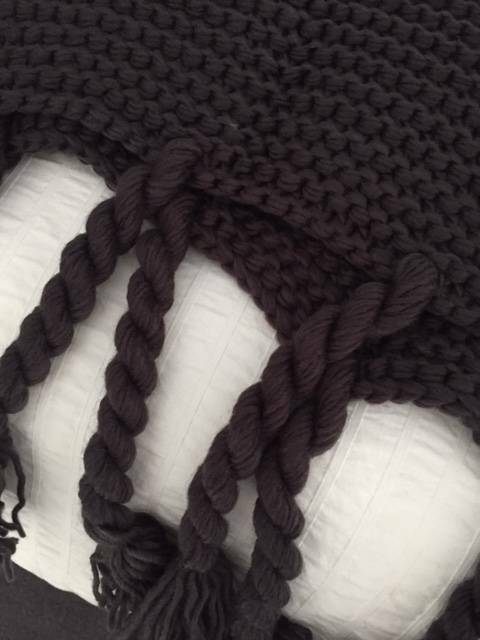 Adairs Chunky Knit Throw Brand New Manchester Textiles