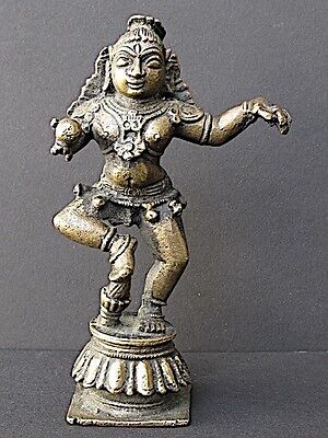 Krishna Dancing Bronze, India