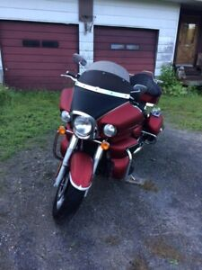 Touring Motorcycle for Sale $7500 or Trade for Fishing Boat