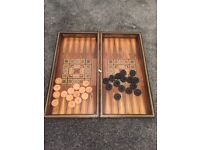 Antique Turkish Backgammon board