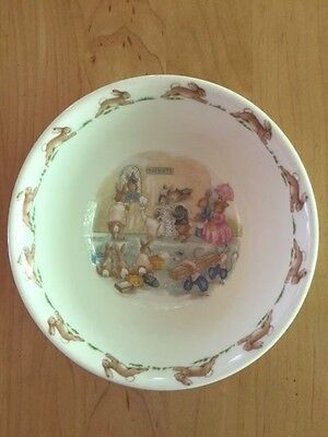 Royal Doulton Bunnykins Porcelain Child's Bowl Dish 1936 England