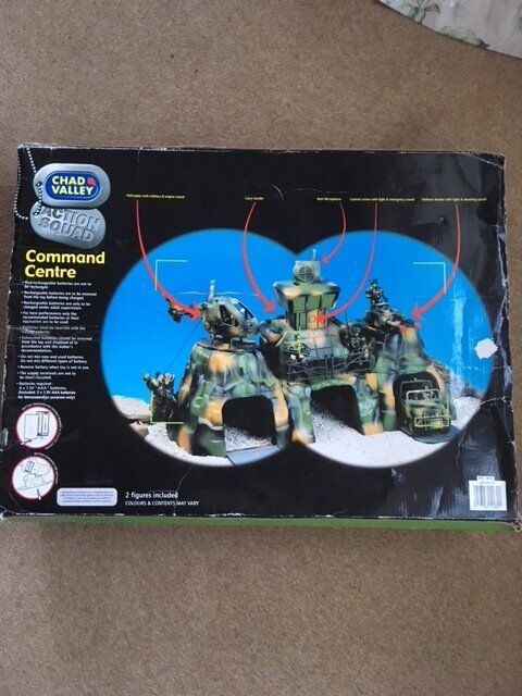 Chad Valley Command Toy Soldier Set