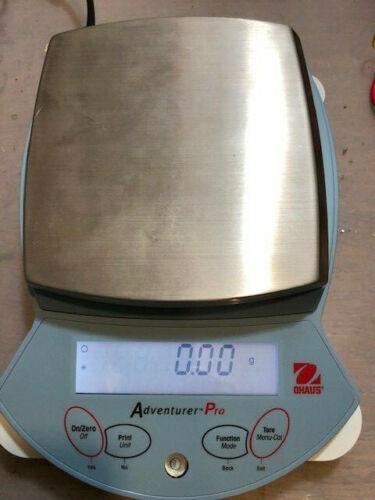 Ohaus Adventure Pro Balance AV412 Precision Laboratory Scale w/ Power Supply