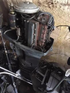 Outboard motor. 60 HP johnson