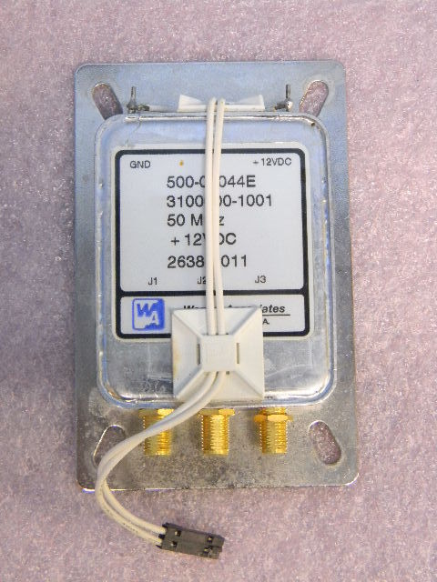 Wenzel Associates SMA Triple 50MHz Oscillator Source +12VDC