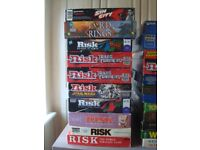 VINTAGE BOARD GAMES 3 - BUNDLE / COLLECTION RISK LORD OFTHE RINGS SIN CITY