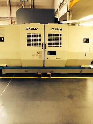 Okuma Lt15-sbm 2001 Two Spindles With Live Tooling