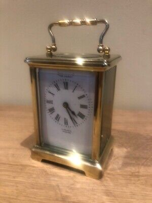Small Brass Carriage Clock - Beautiful Condition