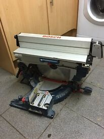Bosch GTM2JL Table and Mitre Saw in Excellent condition. £220