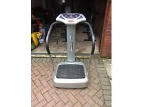 Crazy Fit Vibration Exercise Plate 1750W Series - Second hand