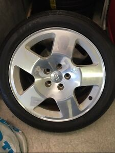 "BRAND NEW Sumitomo tires (summer) on 17"" Audi Mags (full set)"