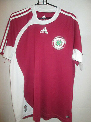 Latvia 2008-2009 Home Football Shirt Size 34