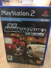 Sony PS2 Game - Midnight Club 3