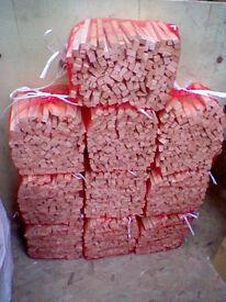 10 bags of firewood kindling