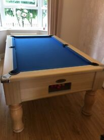 Monarch Pool Table, well looked after, collection only!