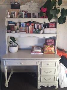 Unique ornate Children's desk and hutch Balwyn Boroondara Area Preview