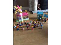 Happy Land Bundle of Toys including Huge train track set