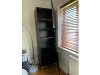 Storage cabinet with glass doors (Ikea - BESTÅ collection)