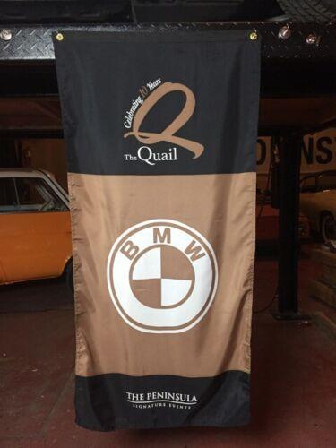 Quail Motorsport Gathering BMW Banner Flag Monterey Pebble Beach Concours Show