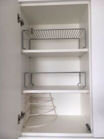 Wire rack shelving (kitchen)