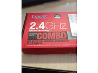 2.4 GHz wireless keyboard