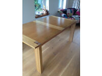 Solid Oak Extendable Dining Table - From M&S Sonoma Range