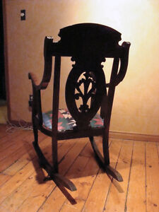 Antique Wooden Rocking Chair London Ontario image 5