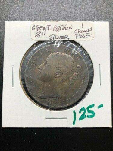 1844 - Great Britain - Crown - FINE