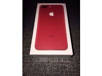 iPhone 7 plus Red 128gb Brand New Unlocked