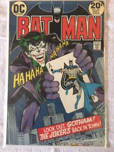 BATMAN #251 comic book - 1st Neal Adams JOKER Cover! - Key Issue
