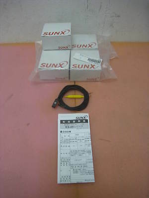 4 NEW SUNX EX-26A-PN, Sensor Photoelec sourcing 73042-41D PNP DARK ON