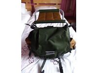 Shakespeare Fishing Rucksack with built in seat