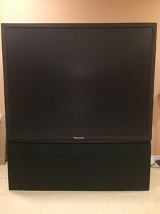 Panasonic 70 inch Projection TV with remote