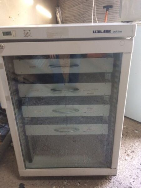 Fridge - Refrigeration Glass Door Medical Fridge with Drawers - Used but in good working Order