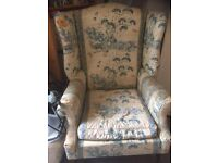 Chair for sale - needs re-upholstering
