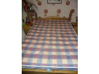Double Mattress Totally Unmarked,