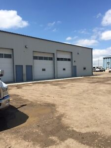 Shop for rent in Rave Industrial area (North Lethbridge)