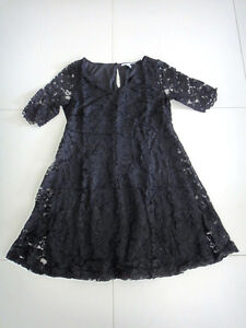 Chic Dream Diva Black Lace Dress - Size 24 - BNWOT - FS