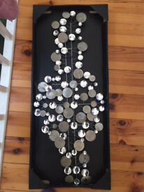 BRAND NEW Metal Wall Art - Unwated Gift