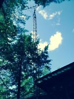 Free tv antenna tower