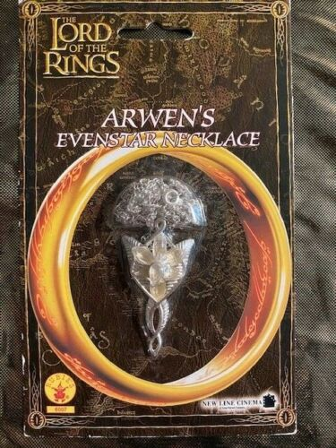 NIP Lord Of The Rings Arwens Evenstar Necklace. New in Package