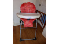 Chicco very sturdy High chair