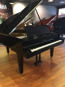 Grotrian 189 Grand Piano Polished Ebony - Contact Us Now Adelaide CBD Adelaide City Preview