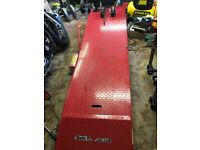 Hydraulic motorbike ramp and stand, clarke cml3.