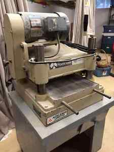 SOLD     ROCKWELL  13 inch Planer   SOLD
