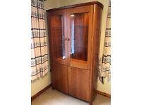 Skovby Cherrywood Display Cabinet