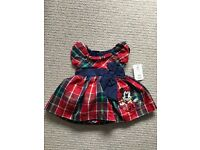 Disney Baby Tartan Dress