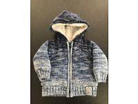 Morrisons Nutmeg knitted coat 0-3 months